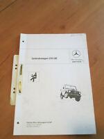 Mercedes Service - Kundendienst Schulung - 230 GE - G 460 - 1982
