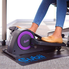 Cubii Jr. Seated Elliptical with Built-in Display Monitor and Mat