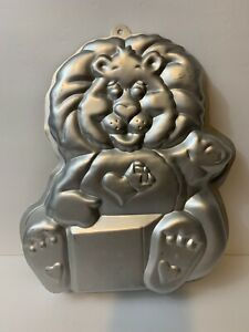 Wilton CARE BEARS COUSINS BRAVE HEART LION CAKE PAN 1984 Vintage Great Shape