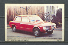 Triumph Dolomite Dandy Denmark Vintage Trading Card No. A42
