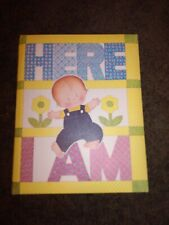 Here I Am Vintage Baby Book
