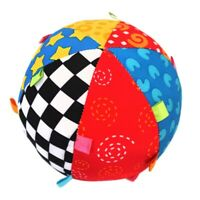Baby Ball Colorful Sensory Ball Toy Soft Ring Bell Ball Early Educational T B6H5