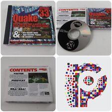 Amiga Format Magazine Cover CD Disc 33 December 1998 Quake Napalm Demo HD