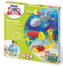 New FIMO Kids Form & Play Set Seaworld Modelling Jewellery Craft Art Fun