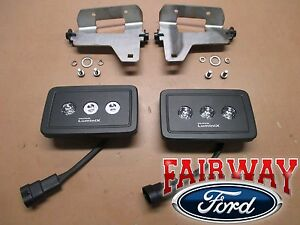 17 thru 19 Super Duty F250 F350 OEM Ford Replacement LED Fog Lamp Kit COMPLETE