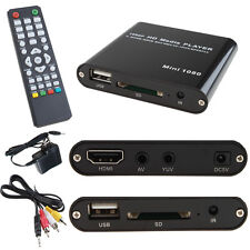 AGPTEK 1080P Mini Full HD Digital Media Player-MKV/RM-SD/USB HDD-HDMI