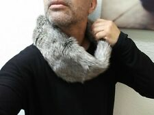 NWT  $29.95 BIG SIZE LANE BRYANT FAUX FUR NECK SCARF UNISEX GAY SEXY FOX COLOR