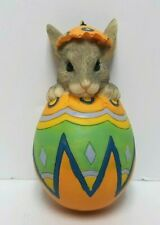 "New ListingCharming Tails ""Peek A Boo!"" Dean Griff Mouse Easter Egg Silvestri 3"" Ornament"