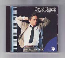 (CD) DAVID BENOIT - Freedom At Midnight / Japan Disc / GRD-9545