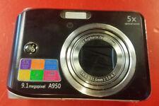 ⭐️⭐️⭐️⭐️⭐️ GE A950 9.1MP Digital Camera- Black **DEFECTIVE**