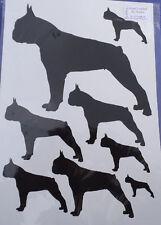 Boston Terrier stickers decals