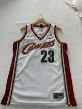 lebron james cleveland cavaliers nike swingman jersey size medium