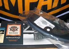 BLUE TRIM Heritage Springer FLSTS Rider Footboard Fringe - Rare, Obsolete, NEW!