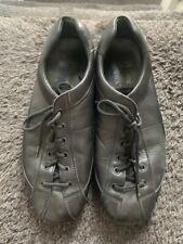 Prada Men's Shoe Size 9. Black Leather Car shoe