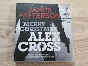 Merry Christmas Alex Cross James Patterson 6-Disc CD Audiobook Unabridged