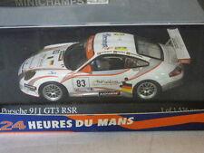 Minichamps Porsche 911 GT3 RSR Nielsen / Ehret / Bergmeister 24h Le Mans 2006