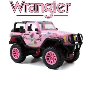 Girls Remote Control 1:16 Girlmazing Jeep Wrangler Toy Car with Adjustable Seats
