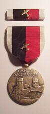 WW II Army Occupation AIRPLANE Device Medal Set