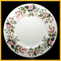 Wedgwood Hathaway Rose 9 Inch Luncheon Plates - NEW !