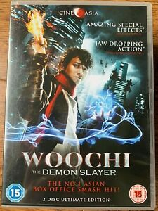 Woochi Demons Slayer DVD 2009 Korean Fantasy Action Movie CineAsia 2-Discs