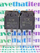 MN2488 & MP1620 /1 PAIR = 1 PIECE OF EACH TRANSISTOR (qzty)