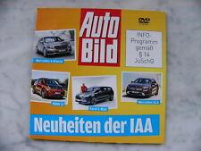 Neuheiten der IAA DVD 2013 BMW i3 Ford S-Max Mercedes GLA S-Klasse Auto Bild
