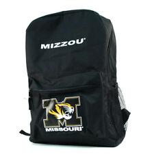 NCAA University of Missouri Tigers Black Backpack