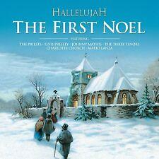 VARIOUS ARTISTS - HALLELUJAH - THE FIRST NOEL: CD ALBUM (2013)