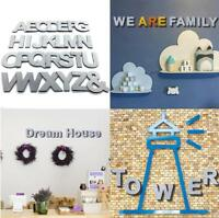 3D Wall Sticker 26 Letters DIY Art Mural Home Room Decor Decals DIY Stickers