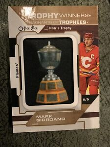 2020-21 UD OPC Trophy Winners Patch Norris - MARK GIORDANO