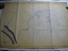 ROMA Mappa Catastale 840 VIA LAURENTINA GROTTA PERFETTA DELLE STATUE  1943