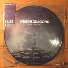 IMAGINE DRAGONS Night Visions PP 2014 RSD Picture Disc RARE EX B0021595-01