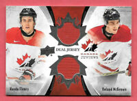 2016-17 Haydn Fleury - Roland McKeown Upper Deck Team Canada Juniors Jersey