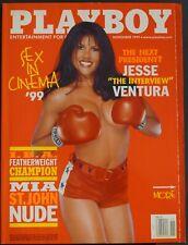 Playboy US 11/1999 November 1999 Mia St. John Cara Wakelin