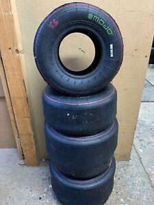 Mojo D2XX Kart tyres Used - Rotax /OTK TonyKart -