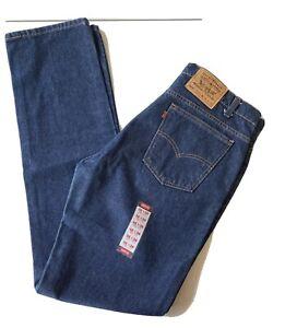 Vintage Levis 505 Orange Tab Jeans Regular Fit Men's 36 X 36 Made In USA