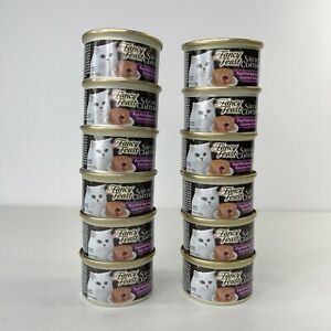 Fancy Feast Savory Centers Beef Pate 12 Cans Total Exp 08/22 & 12/22