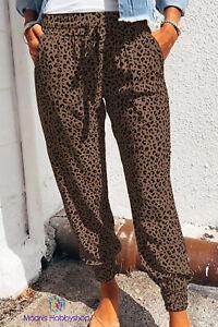 Hose Leoparden Look braun, Größe S - XL, Neuware Top !!
