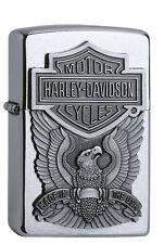 Zippo Harley Davidson Eagle Emblem 60001207 NEU&OVP