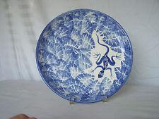 "David Francke 9 7/8"" Ceramic Plate Signed By Artist"