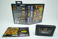 Sega Mega Drive 32X *WWF Raw* OVP mit Anleitung