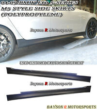 M5-Style Side Skirts (PP) Fits 04-10 BMW E60/E61 5-Series