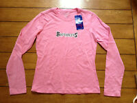 NWT Reebok Tampa Bay Buccaneers Women's Pink Long Sleeve Top-Size Small