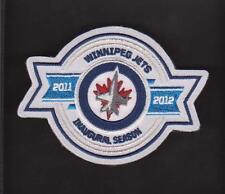 NHL WINNIPEG JETS 2011/2012 INAUGURAL SEASON PATCH