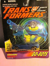 Transformers G2 Go-Bots Sideswipe Sealed