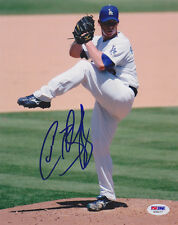 Chad Billingsley SIGNED 8x10 Photo Los Angeles Dodgers PSA/DNA AUTOGRAPHED