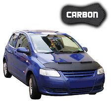 Haubenbra VW FOX CARBON CLEAN Steinschlagschutz Hood Car Bra Front Mask Cover