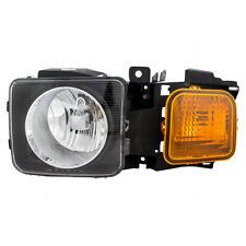 Drivers Halogen Headlight Headlamp Housing Assembly for 2006-2010 Hummer H3 H3T