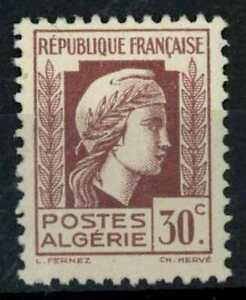 Algeria 1944 SG#216, 30c Lilac, Marianne MH #E84562