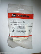 Wiremold V518 STL External Elbow, 500, Ivory, New